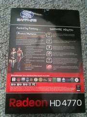 Brand New Sapphire Radeon 4770 PCI-E 512mb GDDR5 Graphics Card