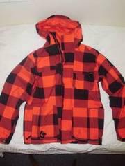 Burton lumberjack pattern jacket MINT condition SIZE L