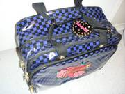 Betsey Johnson Wheelie Carry-on Luggage