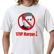 STOP HARPER !  / T-shirt