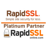 RapidSSL Wildcard SSL Certificate @ $107.10/Yr with SUPER10OFF