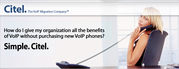 Obtain VoIP features without the expense or disruption of a