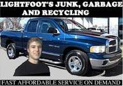 Lightfoot's JUNK&RECYCLING Plus Snow Removal services