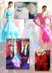Chacha,  rumba,  jive,  tango or waltz dancing dresses