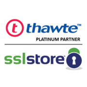 Get Universal Trust Mark for Security with Thawte SSL Web Server.