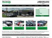 Pre Owned Cars at great prices in Cambridge