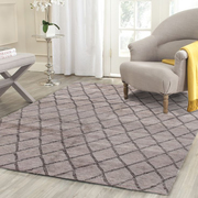 Rugsville Beni Ourain Safi Gray Brown Moroccan Rug
