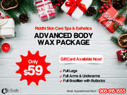 X-Mas Specials - Advanced Body Wax Packages