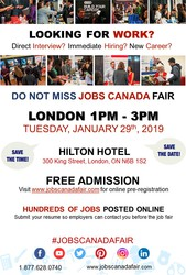 London Job Fair January 29