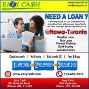 Online Car Title Loans Ottawa
