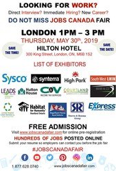 London Job Fair - May 30th,  2019