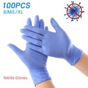 Nitrile gloves,  Latex-free nitrile gloves,  Disposable nitrile gloves