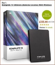 KOMPLETE 13 ULTIMATE  & Other Musical Softwares