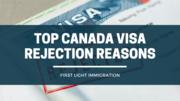 Top Canada Visa Rejection Reasons